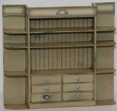 Grosser Vintage Ladenschrank Kit