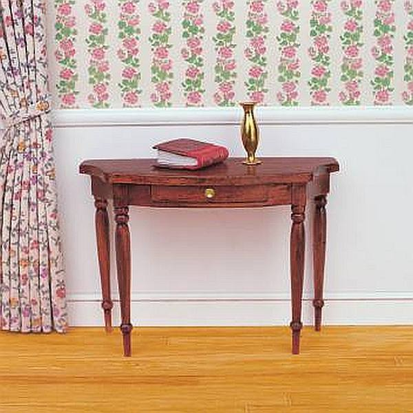 Halbrunder Wandtisch.Halbrunder Wandtisch Bausatz
